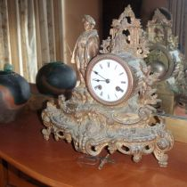French  Clock  C 1880