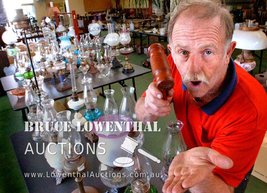 Bruce Lowenthal of Lowenthal Auctions