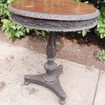 Early   Carved   Occ Table