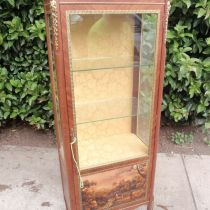 French  Ormolu  display Cabinet