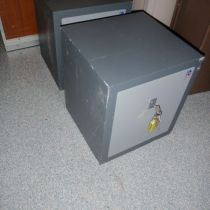 one of the 3 small safes